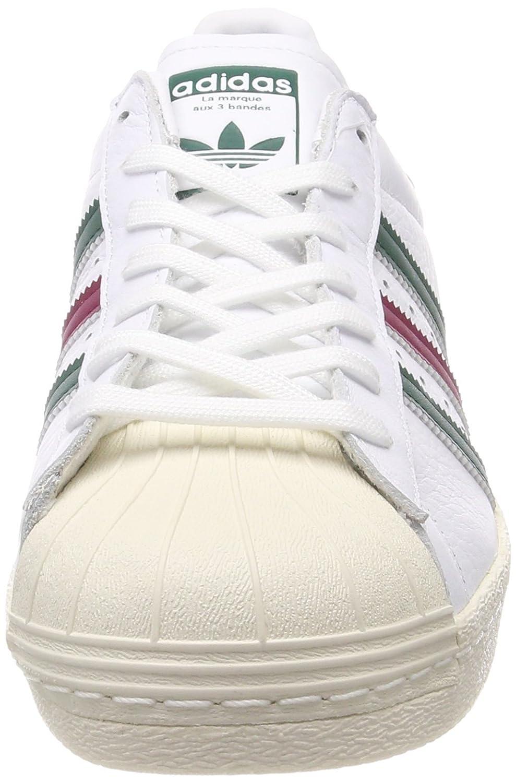 adidas Superstar 80s/ (Gum Outsole), Sneaker/ a 19911 Collo Alto Uomo Bianco (Ftwbla/ Veruni/ Rubmis 000) 6d2cca9