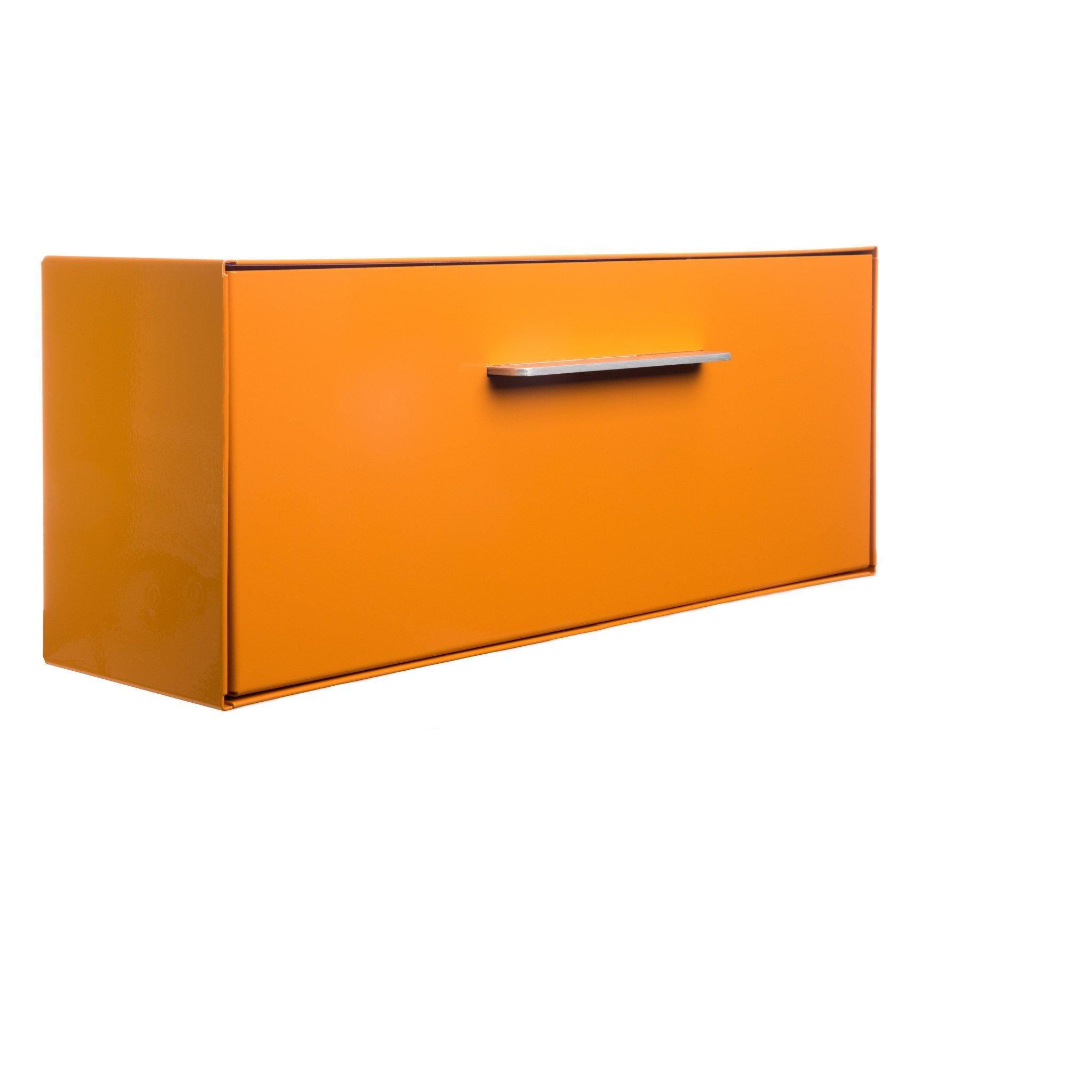 Modern Mailbox | Wall Mounted modbox (Orange)