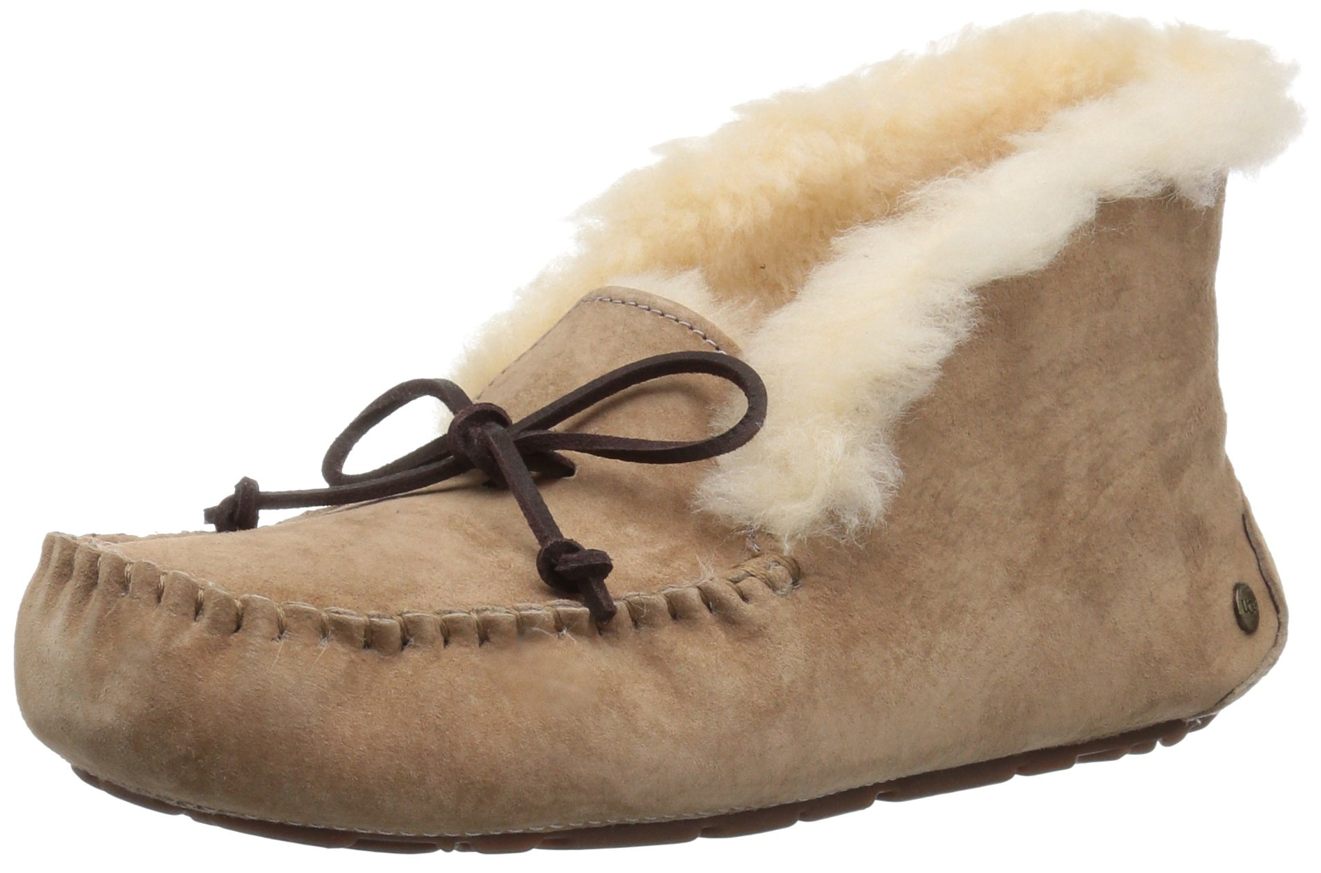 UGG Women's Alena Moccasin, Fawn, 6 M US