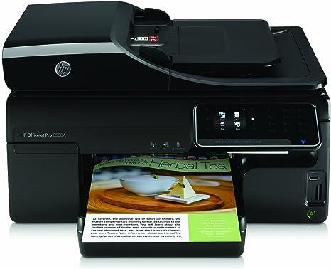 HP Officejet PRO 8500 A E A910A - Impresora multifunción de tinta ...