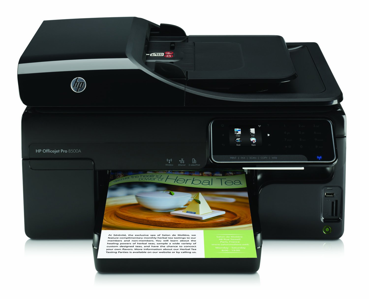 Amazon.com : HP Officejet Pro 8500A e-All-in-One Color Ink ...