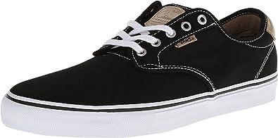 47fb876fceb8 Vans Chima Ferguson Pro Mens Skate Shoe- Black White Tan (6.5 D