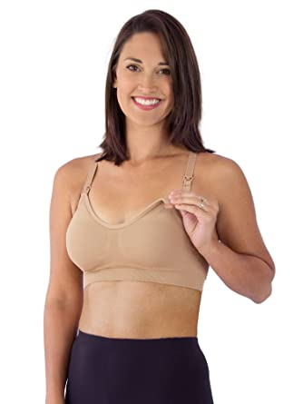 85745b451ccd8 Loving Moments by Leading Lady Women s Seamless Keyhole Sports Bra at  Amazon Women s Clothing store