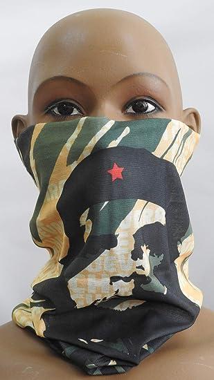Cofi1453 Multifunktionstuch Halstuch Schlauchschal Atmungsaktiv Gesichtschutz Mundschutz Gesichtmaske Che Guevara M33 Auto