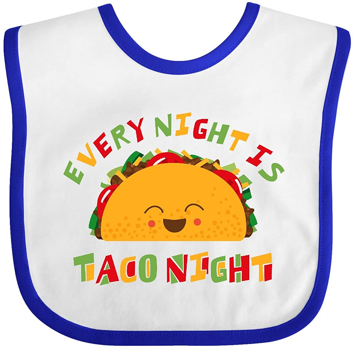 Inktastic - Tacos Every Night Baby Bib 2f768 14-194408-116-893-2993