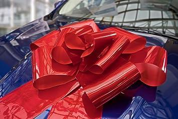 Kenley Nœud Gros Rouge Pour Voiture 76 Cm Noeud Papillon Géant
