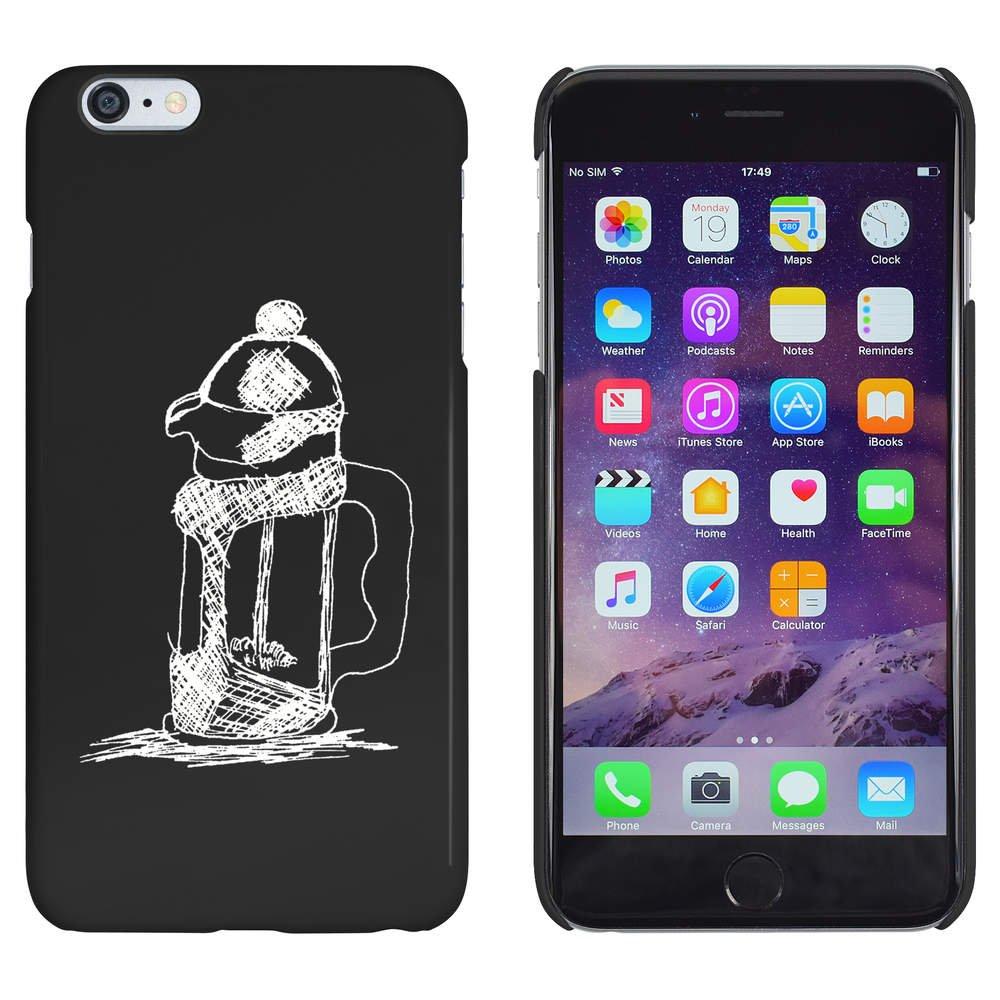 Azeeda Negro Cafetera Funda / Carcasa para iPhone 6 Plus & 6s ...