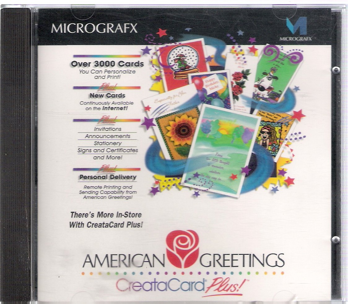 Amazon American Greetings Creatacard Plus