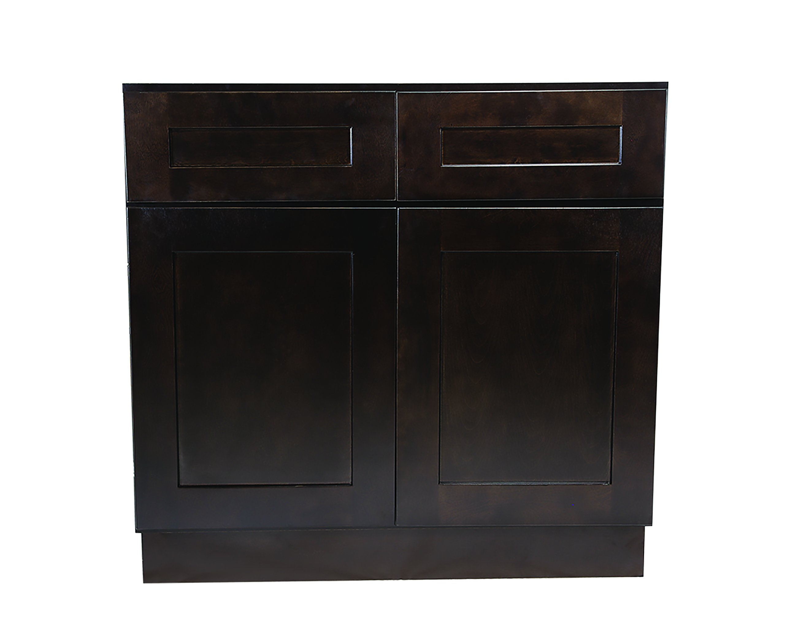 Design House 561993 Brookings 36-Inch Base Cabinet, Espresso Shaker by Design House