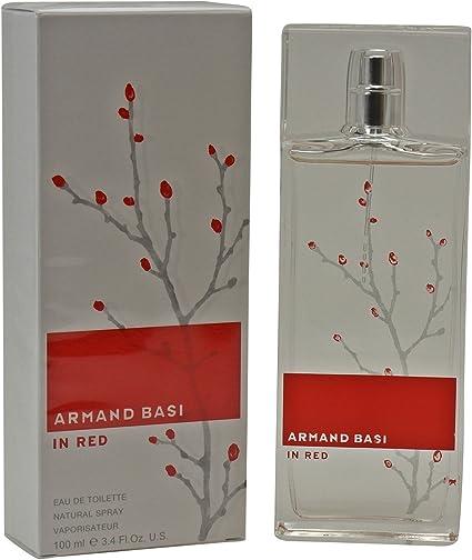 ARMAND BASI IN RED EDT 100 VAPO: Amazon.es: Belleza