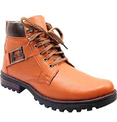 b4bc6950b805 DLS Boots Tan Best Price in India