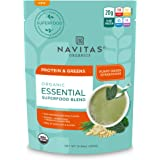 Navitas Organics Essential Superfood Protein Blend, Protein & Greens, 8.4oz. Bag — Organic, Non-GMO, Gluten-Free, Plant-Based Protein