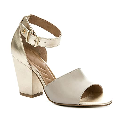 Amazon.com: VELEZ Women Genuine Colombian Leather Chunky heel Sandals | Sandalias de Cuero: Shoes