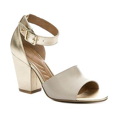 VELEZ Women Genuine Colombian Leather Wedge Heels Open Toe Chunky Heel Ankle Strap Peep Toe Sandals
