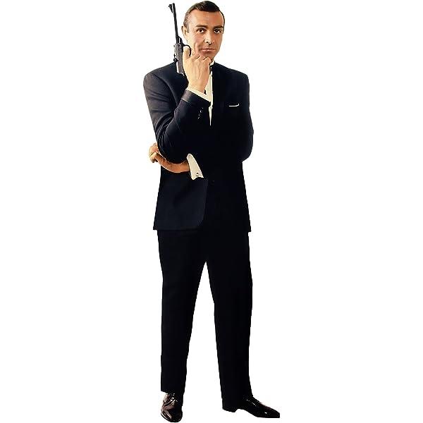 Amazon Com Sean Connery James Bond 007 Lifesize 6 2 Cardboard Standup Standee Cutout Poster Figure New Home Kitchen