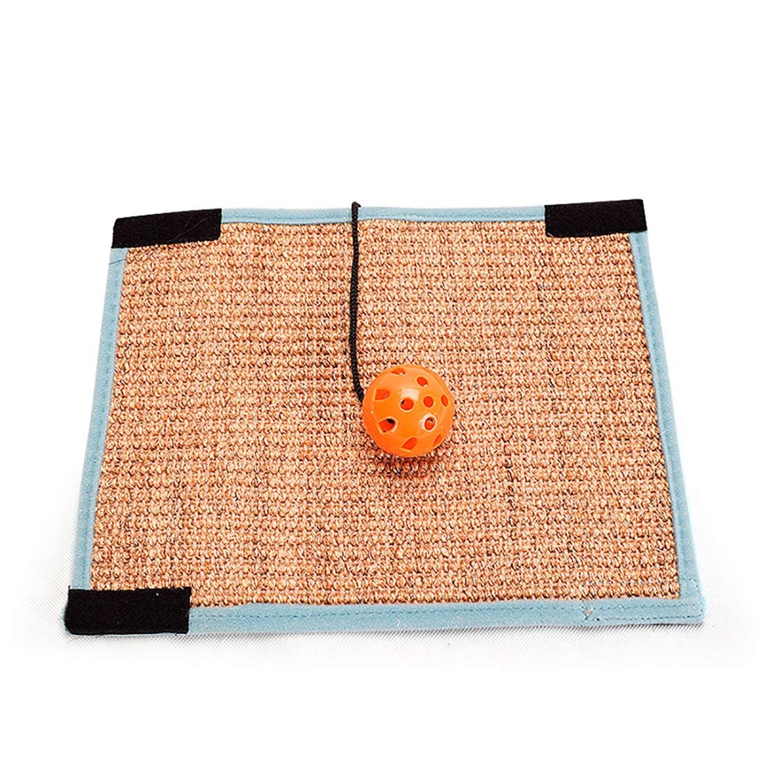 Pet Toy Cat Claw pad Pet Claws Grinding Sisal Antibacterial Can Distort Foldable 31.5  24.5 cm