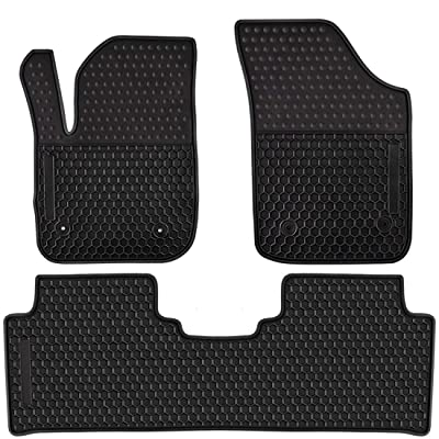 Ucaskin Car Floor Mats Custom Fit for Buick Envision 2016 2020 2020 2020 Odorless Washable Rubber Anti-Slip All Weather Protection Car Floor Liner-Black: Automotive