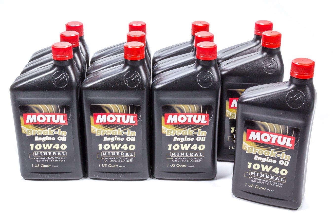Motul 108080 Break-In Oil, 12 quart