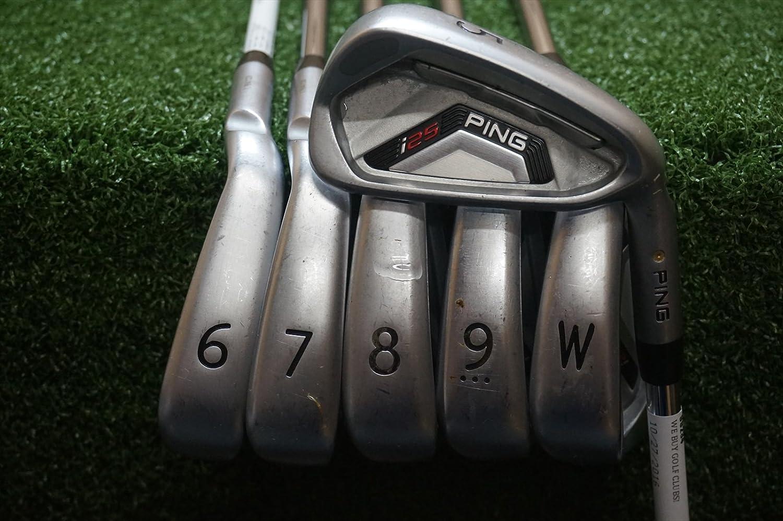 Ping i25 para diestros juego de hierro acero rígido: Amazon ...