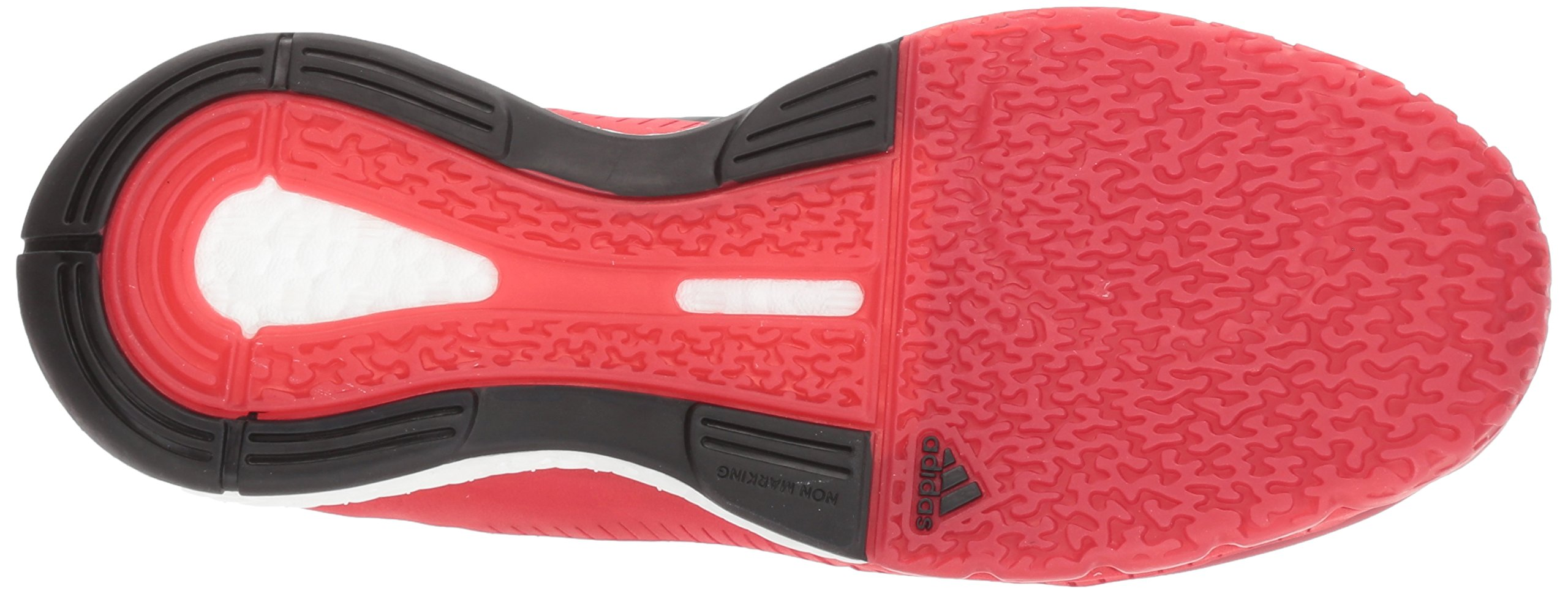 Adidas Women's Shoes Crazyflight X Volleyball Shoe Black/Metallic Silver/Power Red,7.5 by adidas Originals (Image #3)