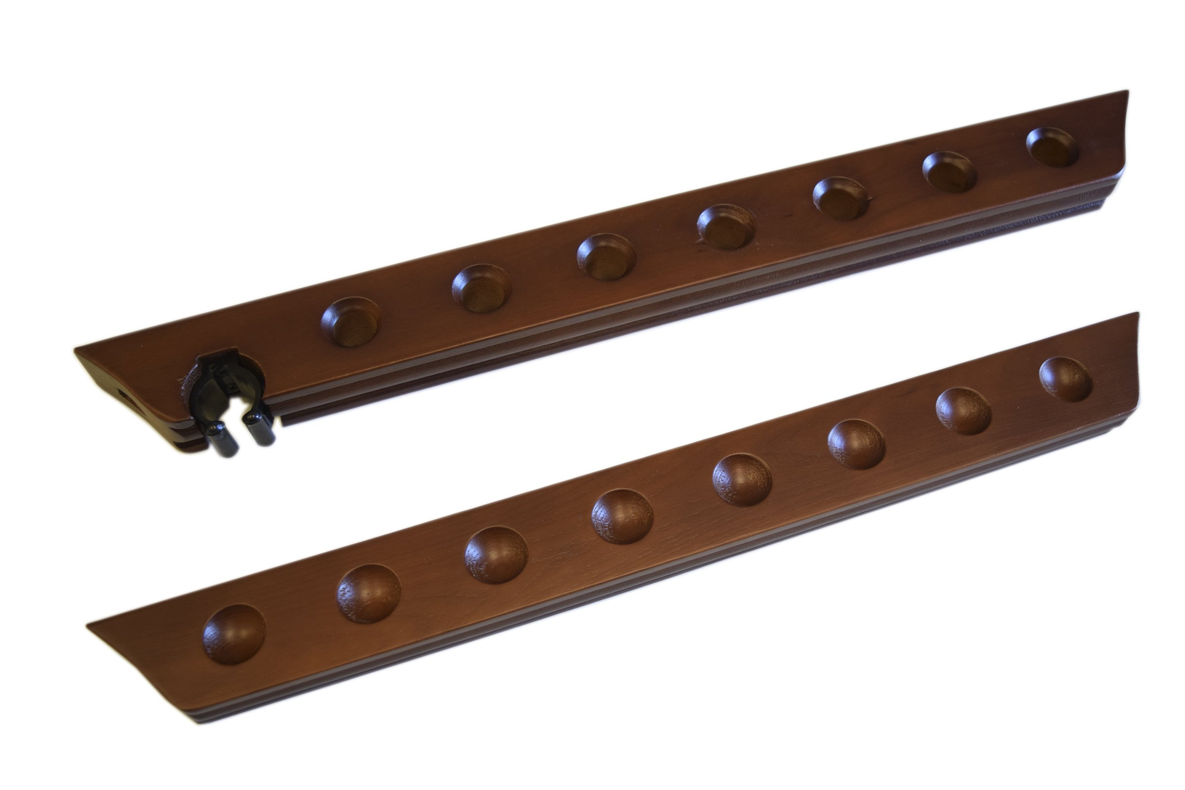 8 Pool Cue Rack - Billiard Stick Wall Cue Rack, Holds 1 Bridge