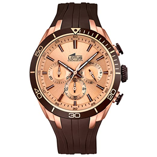 def726a8008a Lotus mens watch Smart Casual chronograph 18193/2: Lotus: Amazon.co ...