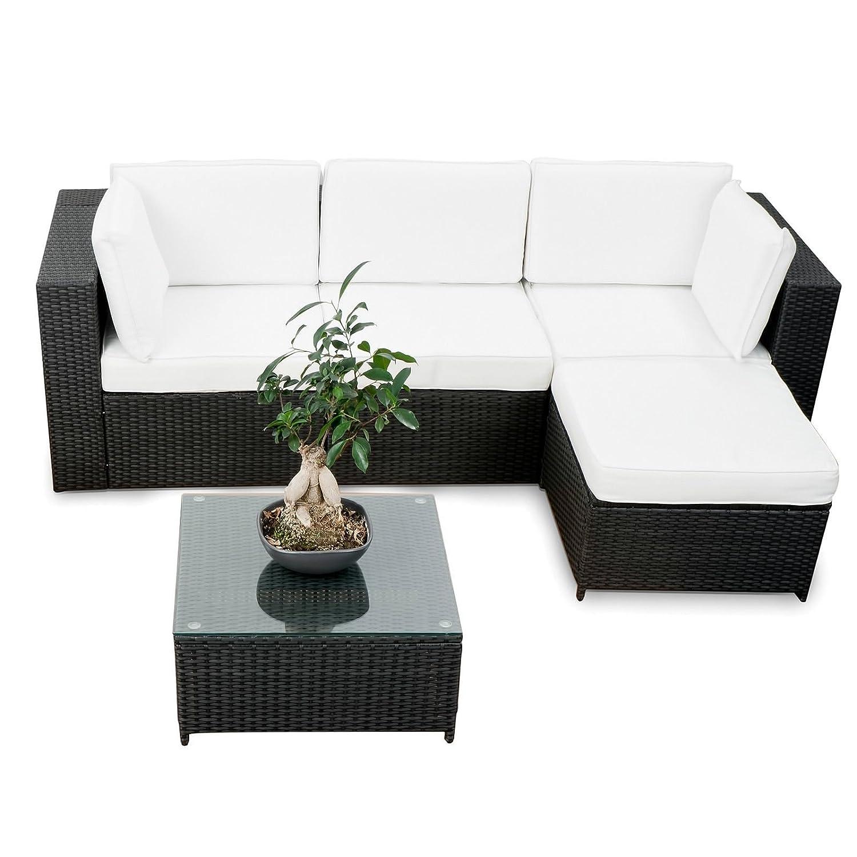 SSITG Polyrattan Gartenmöbel Lounge Möbel Sitzgruppe Lounge Hocker Tisch Sessel Sofa online kaufen