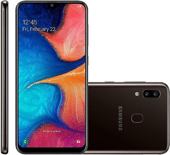 Amazon Com Samsung Galaxy A20 6 4 A205u 32gb T Mobile Black Renewed