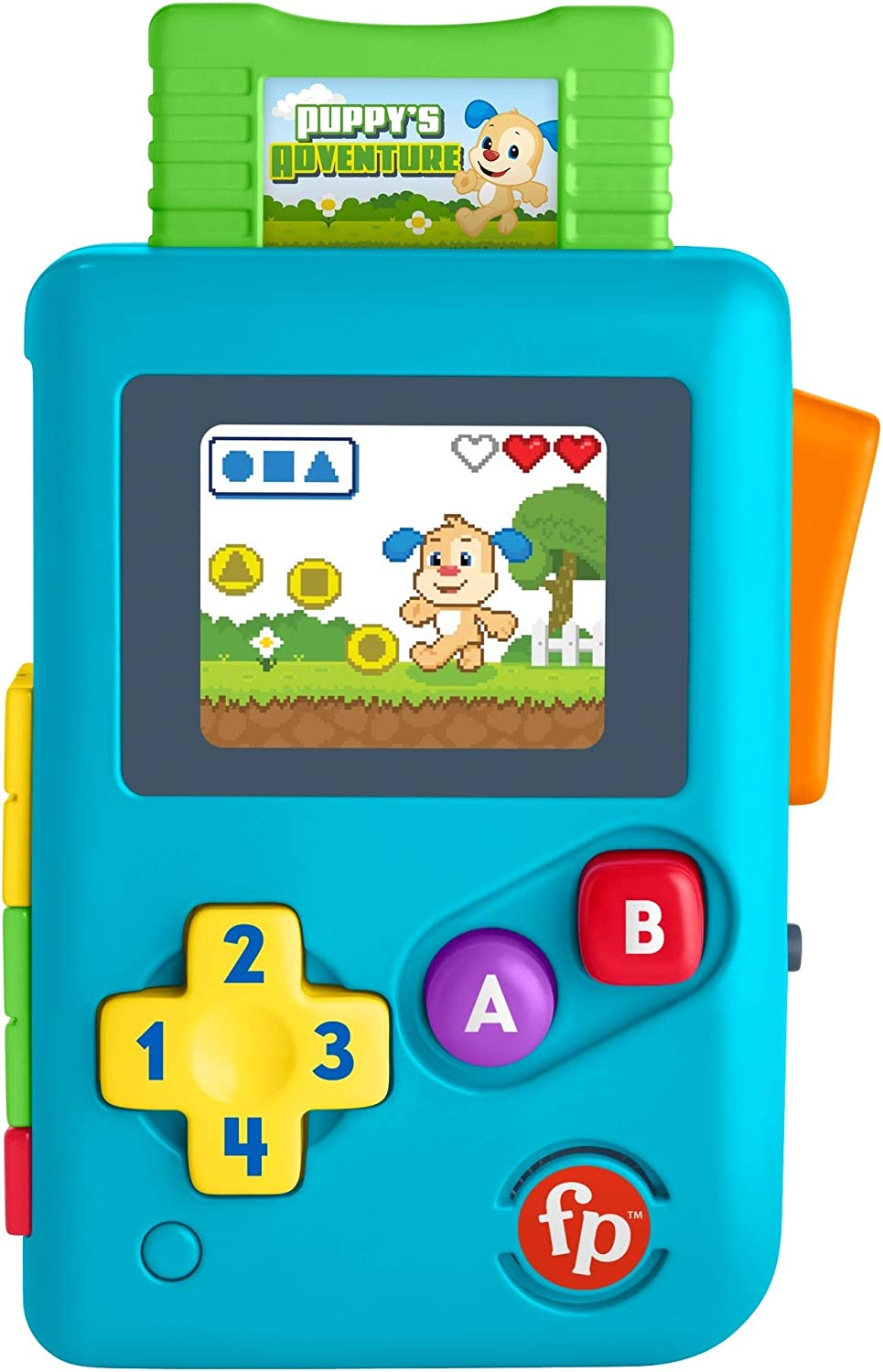 Fisher-Price Laugh & Learn Lil' Gamer, Educational Musical Activity Toy for Baby and Toddlers Ages 6-36 Months