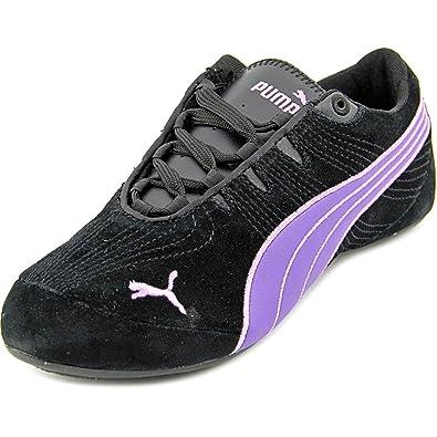 c22615d63854 Puma Womens Etoile Suede 2 Sneakers Shoes-Black Prism Violet Lavendula-9