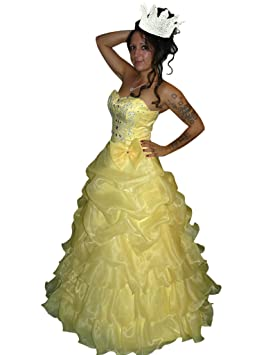 KR08 Vestido de ensueño para baile de carnaval con corona para gala. Talles 38 en