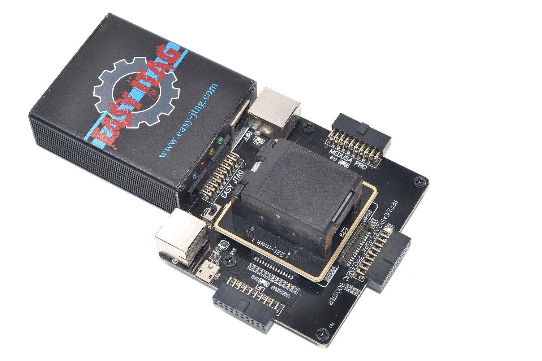 ALLSOCKET Boxes eMMC Repair Kit BGA153/169/162/186/529/221 Reader  Programmer Adapter for Easy-Jtag Box,Medusa Pro Box, Riff Boxes,UFI ATF