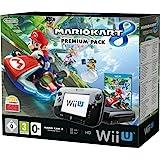 Console Nintendo Wii U 32 Go noire + Mario Kart 8 - premium pack