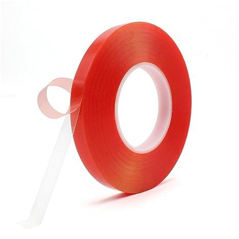 3mm-15mm 50m Doppelseitiges Klebeband f Handy Reparatur stark transparent