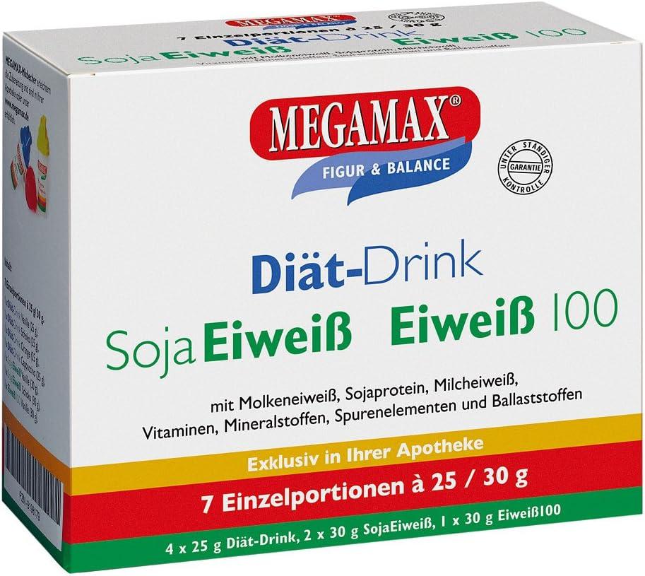 MEGAMAX - Bebida en polvo para adelgazar y perder grasa