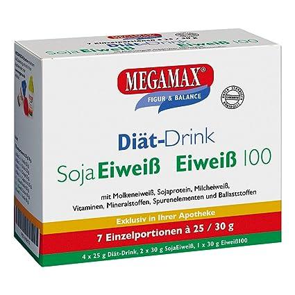 MEGAMAX - Diät-Drink - Kit para principiantes - Bebida en polvo para adelgazar y