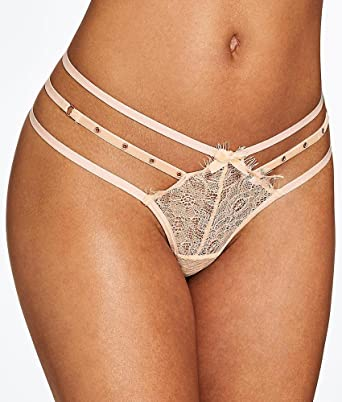 8182dc81468f Ann Summers Womens Marian Thong Nude G-String Lace Sexy Lingerie Underwear 8:  Amazon.co.uk: Clothing