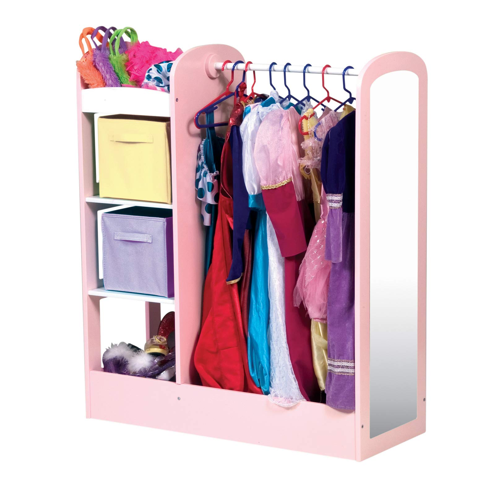 K&A Company See and Store Dress-up Center by Guidecraft, 42'' x 14'' x 24 lbs