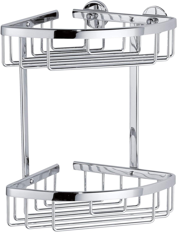 tesa 40205-00000-00 40205-00000-00-Cesta esquinera de Ducha Doble Serie ALUXX, Standard: Amazon.es: Bricolaje y herramientas