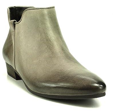 Trüffel SpitzAmazon Paul Stiefelette Boot Grau Green Ankle wN8nm0