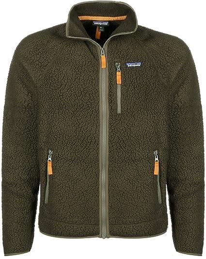 low price latest fashion best sale PATAGONIA Retro Pile Jacket Men's L Mens Sediment: Amazon.co.uk ...