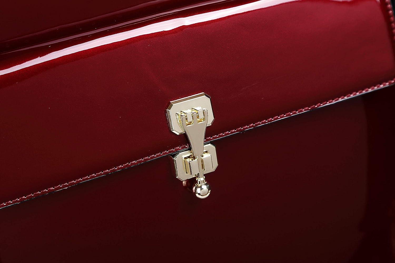 Bona Fide Double Layer Classy Luggage 3D Metallic Laser Cut Rolling Suitcase