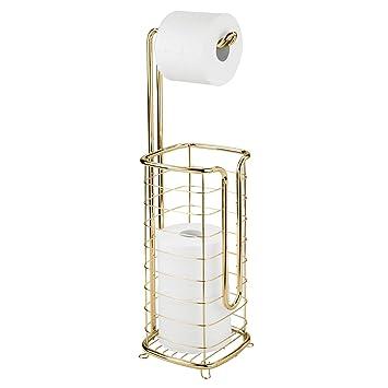 An Der Wa N9Z8 Quadratischer Toiletten Papier Halter Aus Verchromtem Badezimmer