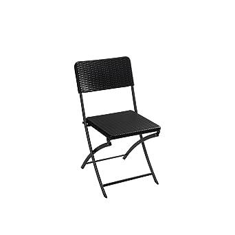 PEREL FP165R Chaise Pliante Multicolore 46 X 18 98 Cm