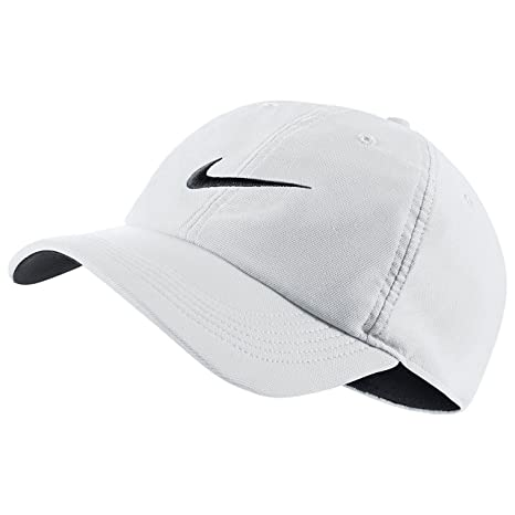14b7d6c826a Amazon.com  Nike Train Twill H86 Adjustable Training Hat White Black Black   Sports   Outdoors