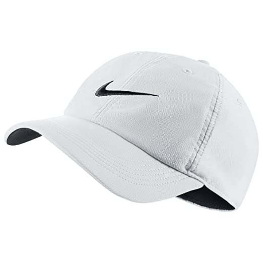 676094f18fcf4 Image Unavailable. Image not available for. Color: Nike Train Twill H86  Adjustable Training Hat White/Black/Black