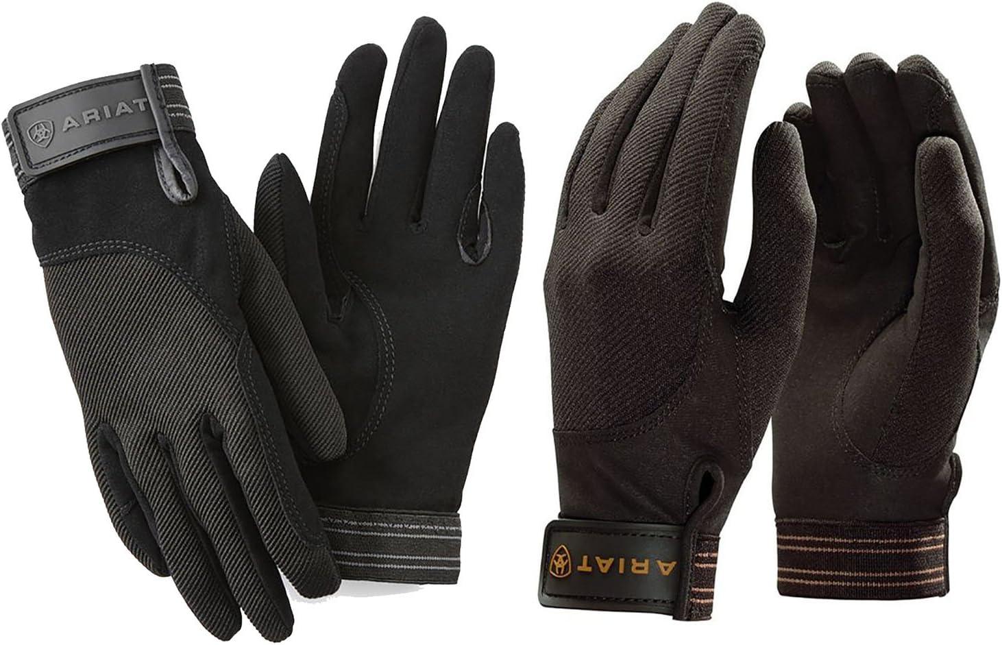 Ariat Insulated Tek Grip Riding Gloves Black