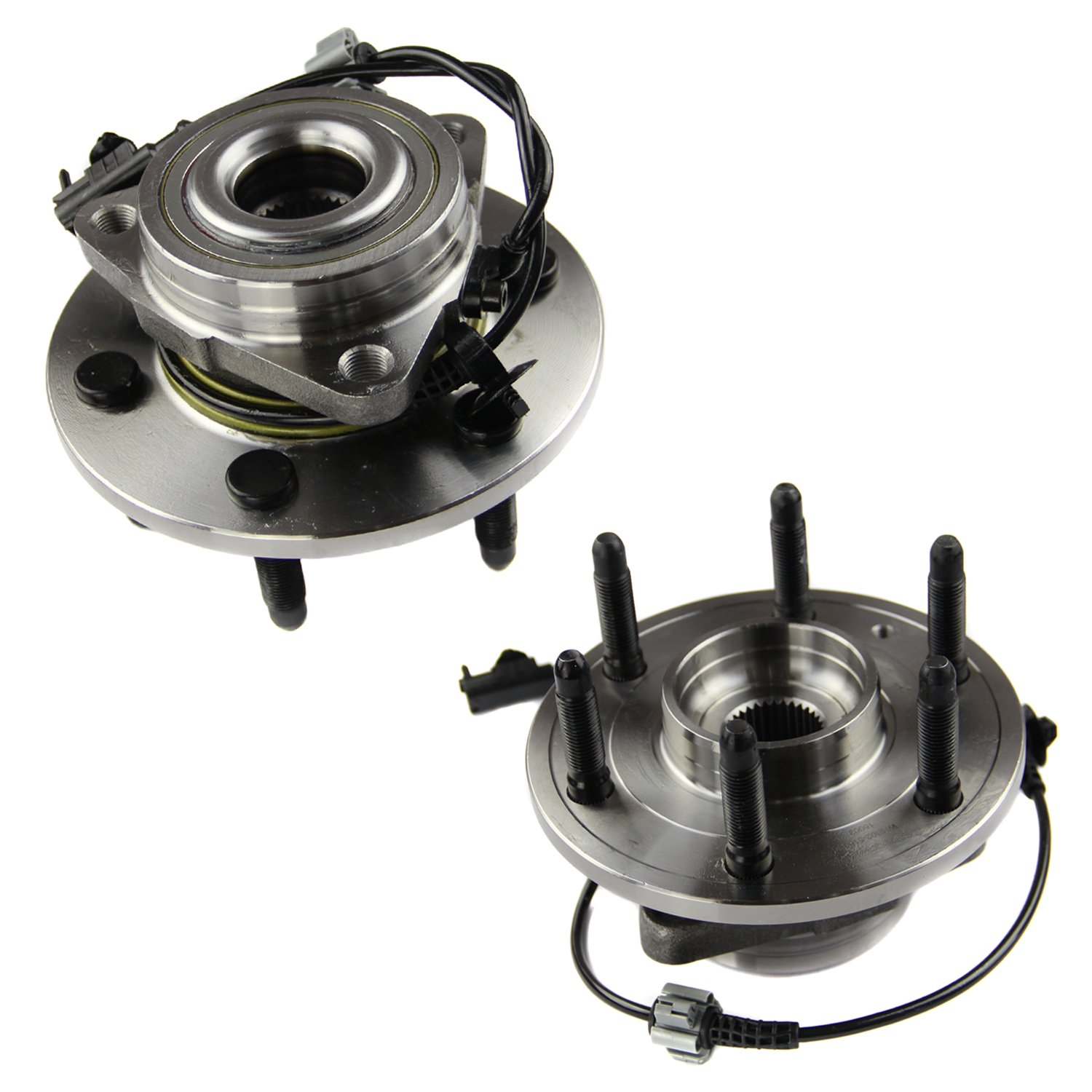 MOTORMAN 515096 Front ABS Wheel Hub and Bearing Set - Both Left and Right - Pair of 2 by MOTORMAN