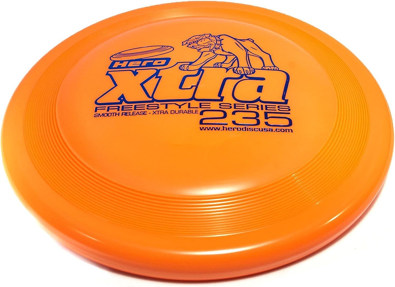 Hero Xtra 235 Freestyle Flying Dog Sport Disc Orange