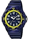 Casio Collection – Herren-Armbanduhr mit Analog-Display und Resin-Armband – MRW-200HC
